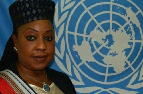Fatma Samba Diouf Samoura has previously worked for the UN and in the private sector