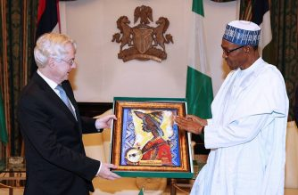 President Buhari receives in farewell audience, H.E. Michael Zenner, the outgoing Ambassador of the Federal Republic of Germany to Nigeria in Statehouse on 21st July 2016. Pic Credit Femi Adesina