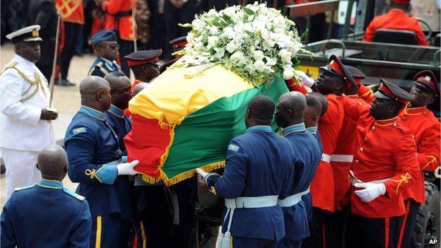 The-funeral-of-Ghanas-John-Atta-Mills-drew-thousands