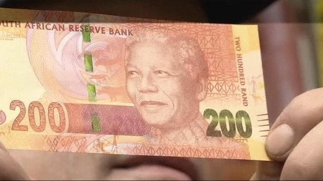 Nelson Mandela banknotes issued in South Africa