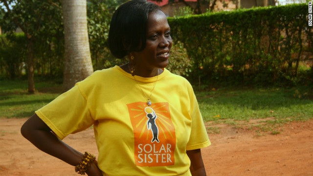'Solar sisters' spreading light in Africa