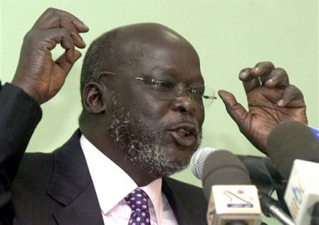 Dr. John Garang's forgotten 2004 message: A wake up call for South Sudanese Diaspora