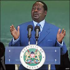 Democracy On Trial in Kenya says Odinga.