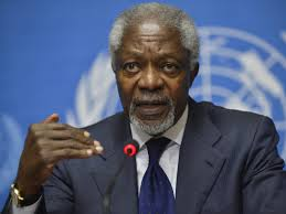 UN Security Council debate on conflict and natural resources: Remarks by Kofi Annan