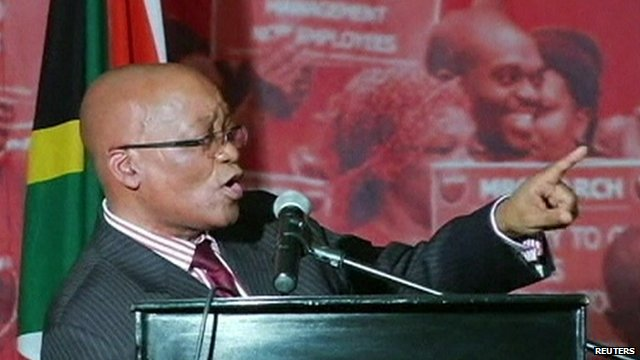 Mandela's health: Zuma sings in praise of-ex-president