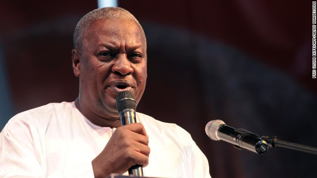 "Ghana's Supreme Court declared President John Dramani Mahama (pictured) ""validly elected."""