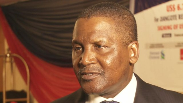 """Aliko Dangote: """"For the first time in our lifetime we'll see Nigeria exporting petroleum product"""""""