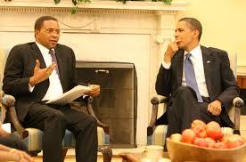 President Kikwete  of Tanzania and  US President Barack Obama