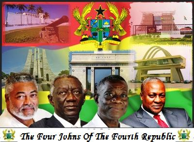 What's in a name or open Sesame to Flagstaff House? The Last four Ghanaian leaders have something in common: The name John