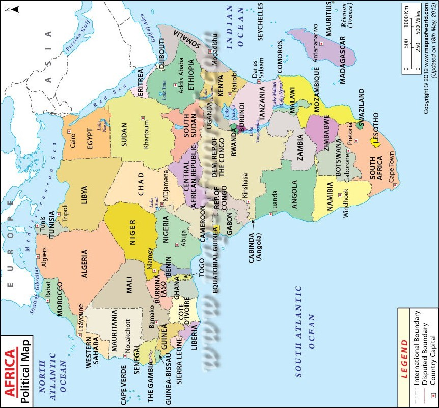 THE MAP OF AFRICA: A POINTER TO AFRICA'S GREAT FUTURE!