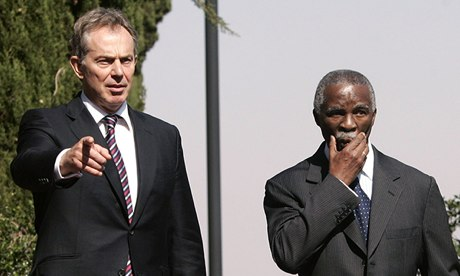 Tony Blair plotted military intervention in Zimbabwe, claims Thabo Mbeki