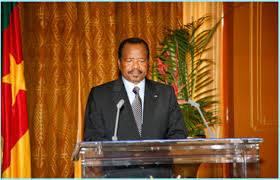 """Embrace a new spirit of patriotism.""-Biya to Cameroonians in new year message"