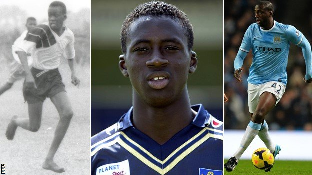 Yaya's story From playing in bare feet to Barca and beyond
