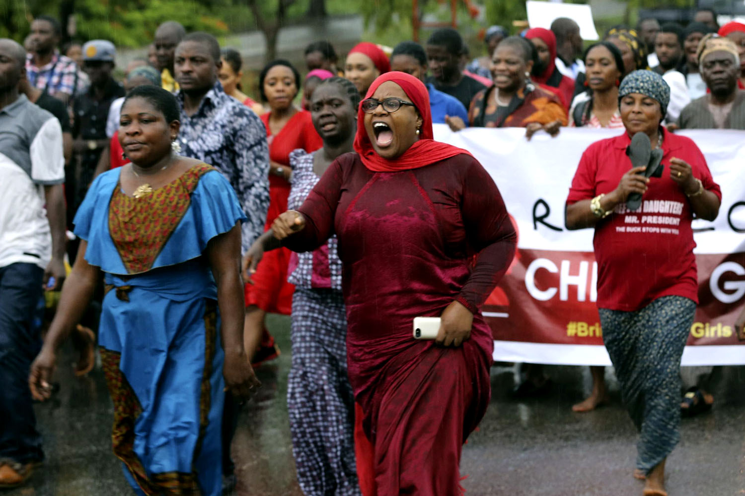 Angry parents take their protests to the streets, calling on the government and kidnappers to bring their daughters home. Desperate families have even taken the search for the over 200 missing girls into their own hands.