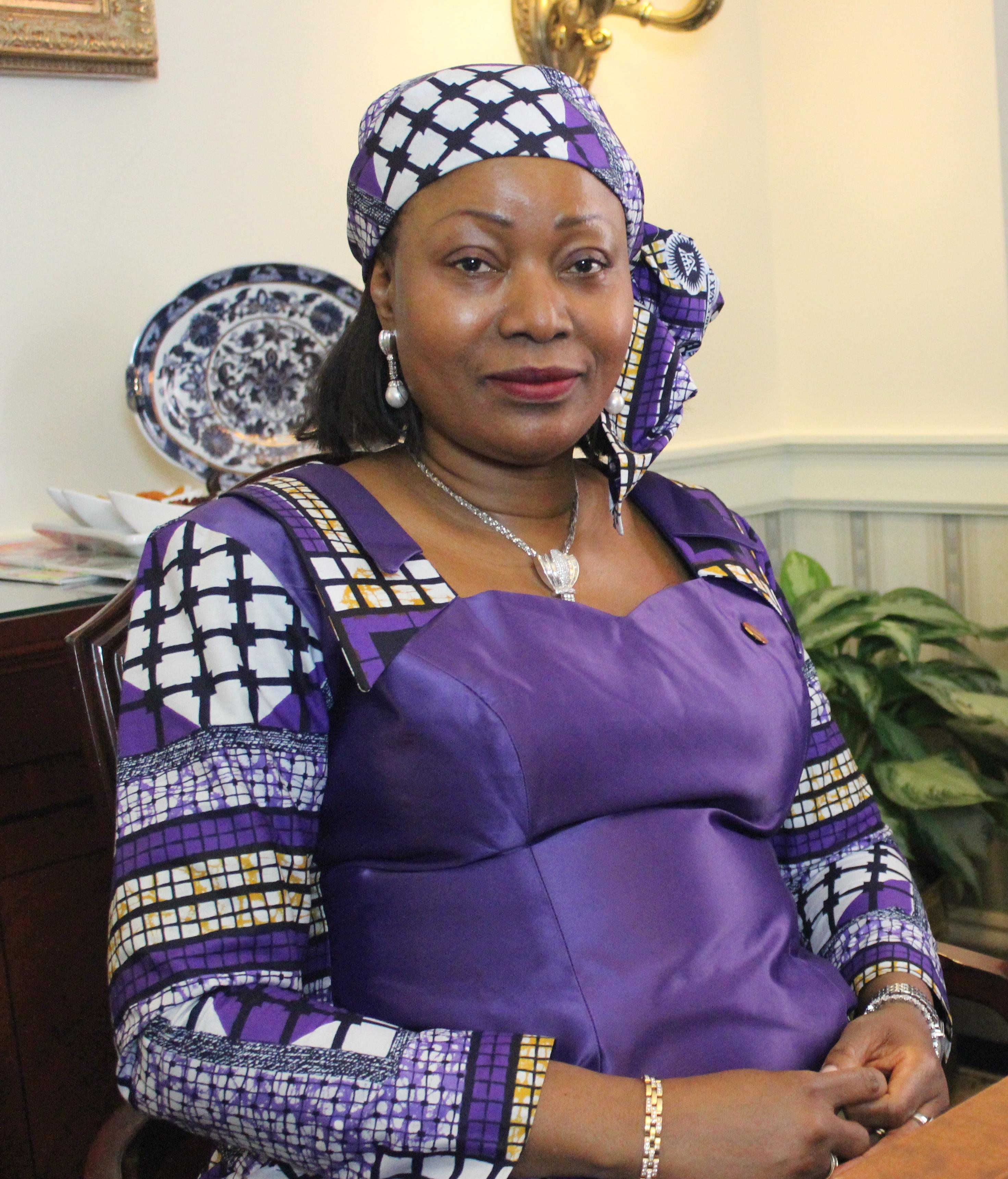 First Lady  Djènè Condé Beams Spotlight on Social Issues In Guinea