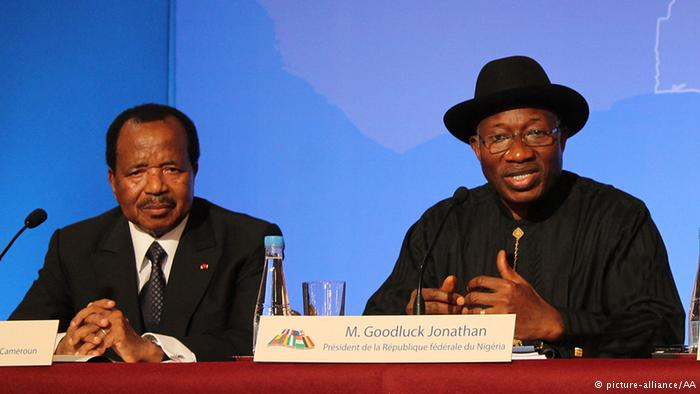 Biya of Cameroon and Jonathan of Nigeria