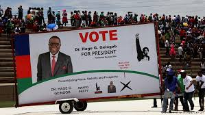 Namibia's ruling party seen winning Africa's first electronic vote