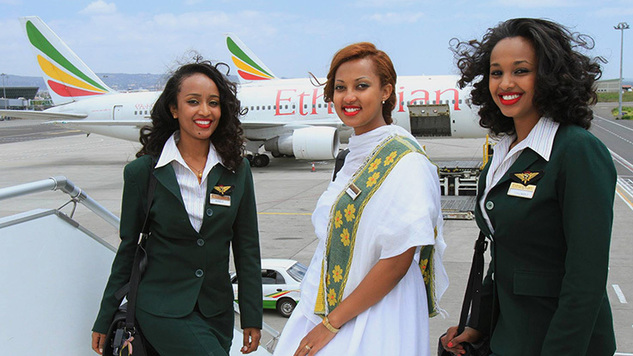 Ethiopian Airlines flies to the most destinations in Africa
