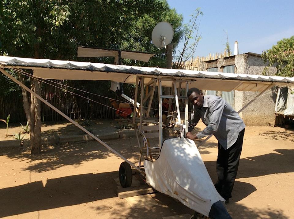 Meet George Mel – The plane-builder of South Sudan