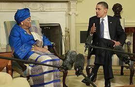 Obama touts Ebola progress with Liberian president