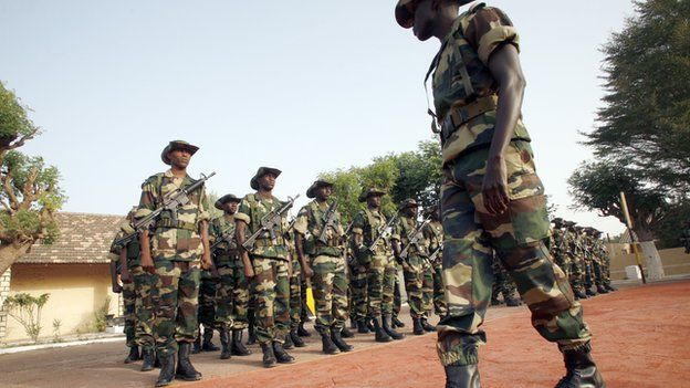 Senegalese forces are among the best trained in Africa