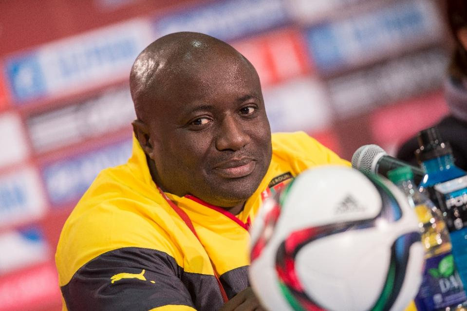 "Cameroon women's football coach Enow Ngachu said it was ""a bad day"" for his side as they exited the World Cup in Canada (AFP Photo/Geoff Robins)"