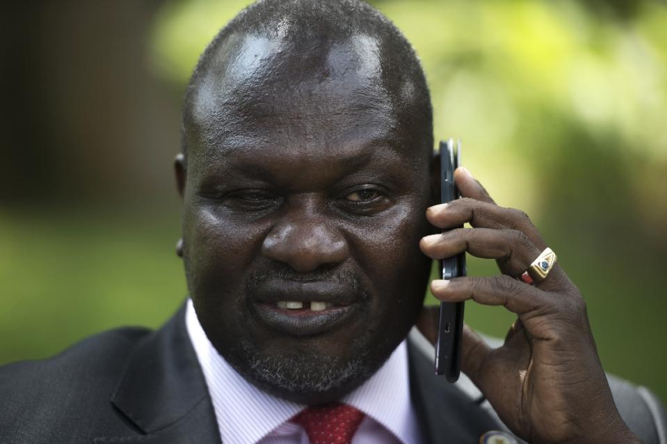 Rebel leader Riek Machar rose to power during Sudan's 1983-2005 civil war between north and south, after which South Sudan seceded in 2011 to form the world's youngest country (AFP Photo/Ali Ngethi)