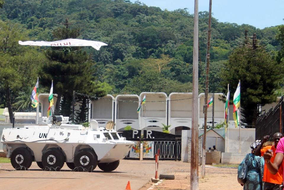 The 12,000-strong MINUSCA force, which took over from an African Union mission nearly a year ago, has been plagued by a series of allegations involving its peacekeeping forces (AFP Photo/Pacome Pabamdji)