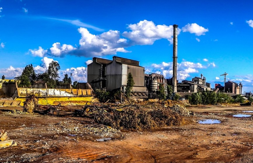 A mine in Johannesburg. Photograph by Paul Saad.