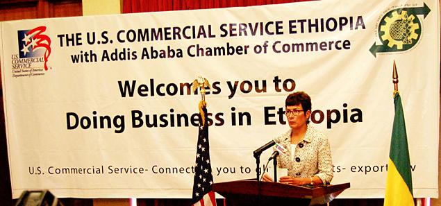 United States Ambassador to Ethiopia, Patricia M. Haslach (Photo: U.S. embassy Facebook Page)