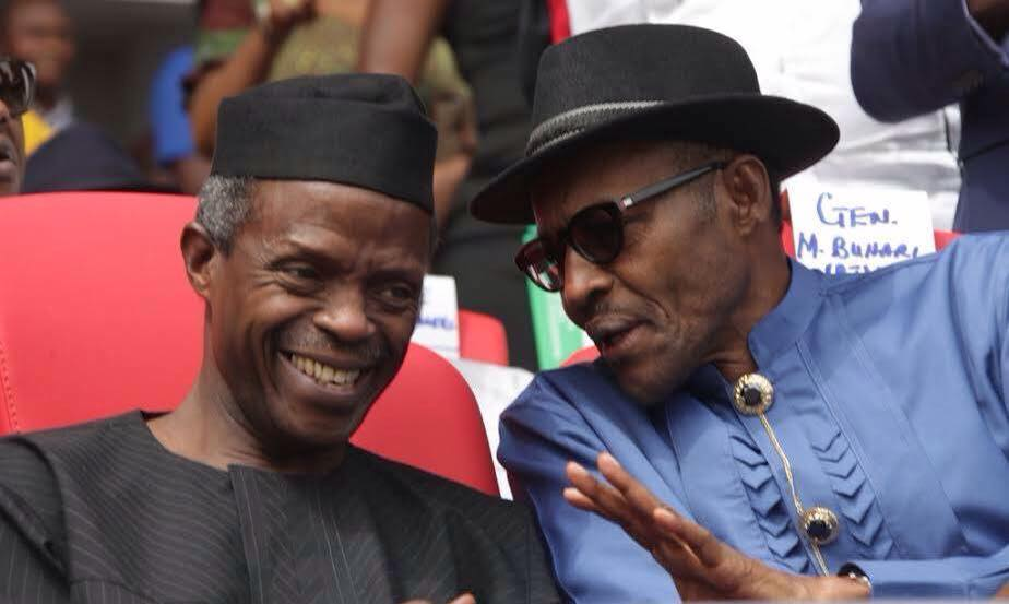 President Buhari and Vice President Osibanjo, time to keep up to campaign promises