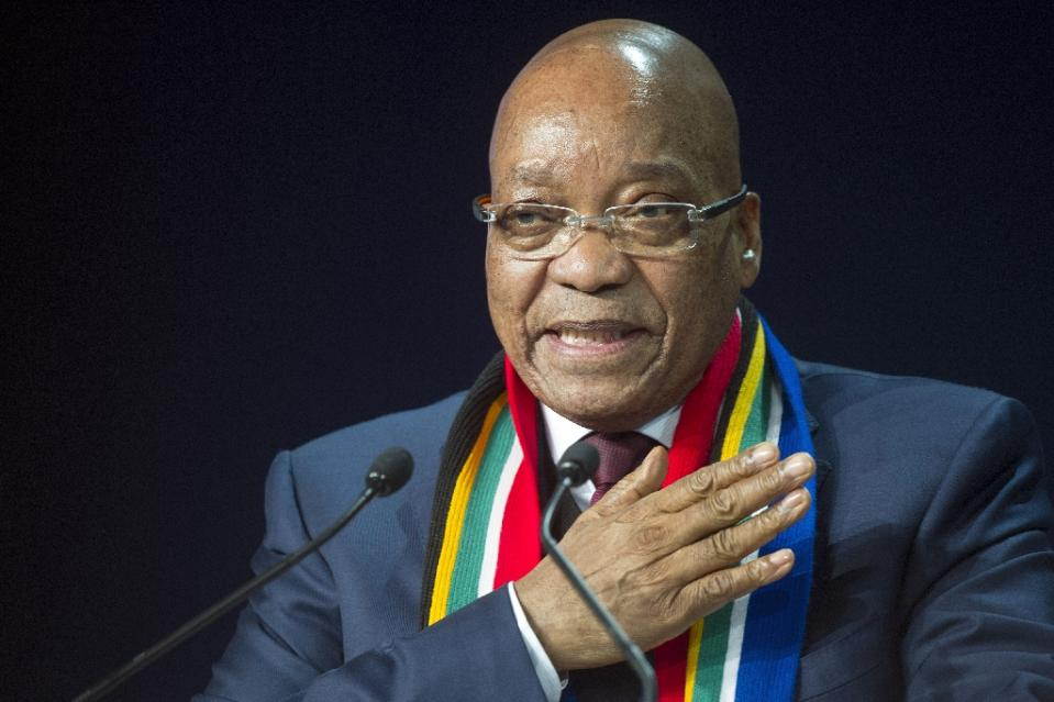 The motion to form an ad-hoc committee to start impeachment proceedings against South African President Jacob Zuma failed to gain the necessary one-third votes in the 400 seat parliament (AFP Photo/Rodger Bosch)