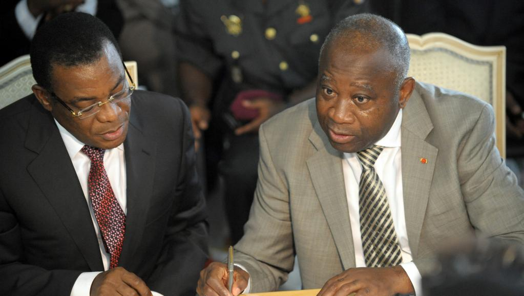 Pascal Affi Nguessan with Former President Gbagbo