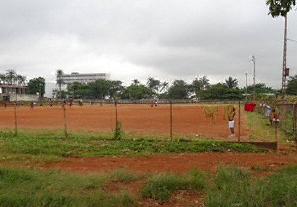 Soccer players train at one of three existing stadiums in Yaoundé, Cameroon's capital. Louis Berger is overseeing modernization of the stadiums in anticipation of the future Africa Cup of Nations competitions