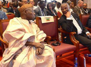 Obasanjo and Thambo-Mbeki