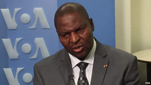 President Faustin-Archange Touadéra, elected to the Central African Republic in February, has the daunting task of restoring stability to his war-ravaged country. (VOA/ M. Besheer and C.Forcucci)