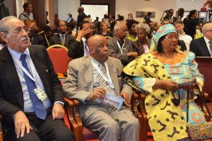 Cross-section of African leaders at the Forum