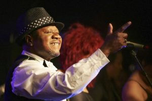 Seen here on stage in Paris in 2006, Papa Wemba was a star for more than four decades
