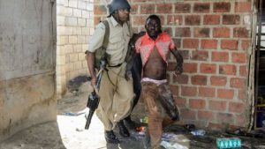 More than 250 people have been arrested by police sent out to stop the looting