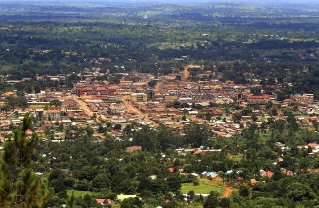 A general view shows Hoima town, Uganda April 27, 2015. REUTERS/JAMES AKENA