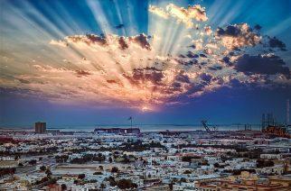 Sunset over Dubai, UAE. Credit: Paolo Margari.