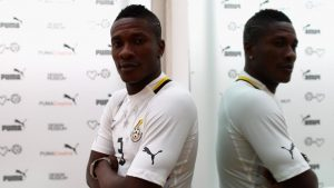 The Black Stars' new shirt is a startling new offering from the sports manufacturer