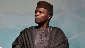 Mr Osinbajo says the culture of stealing public funds has to stop