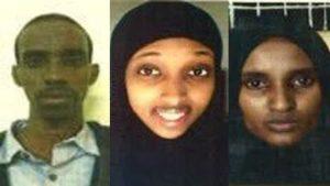 Kenya National Police Service Image caption Mohammed Abdi Ali, Nuseiba Mohammed Haji and Fatuma Mohammed Hanshi have been arrested