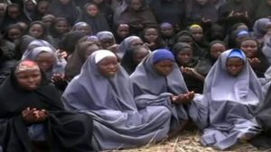 The girls until now have only been seen in videos released by their captors
