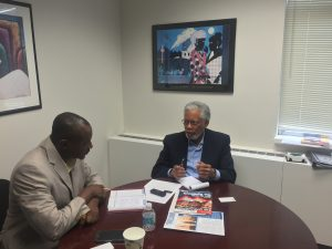The dip in the price of oil opens up prospects for investments in other sectors of the Nigerian economy says Ambassador Perry. Picture credit: Michaela Ehimika,CCA