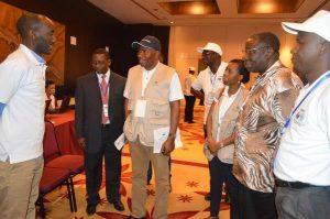 Goodluck Jonathan On Election Duty in Tanzania