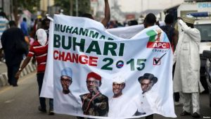 Many Nigerians celebrated Muhammadu Buhari's victory