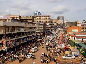 Kampala Uganda Downtown Kampala. Photographer: Michele Sibiloni for Bloomberg Businessweek