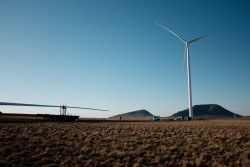 South Africa: Mainstream's Noupoort wind farm - under construction